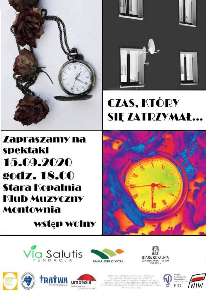 Plakat informacyjny spektaklu