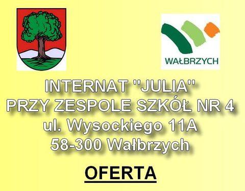 "Internat ""Julia"" przy zespole szkół nr 4"