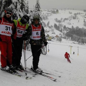 Galeria Finał Wojewódzki Licealiady w Narciarstwie Alpejskim chłopców Zieleniec,  21 lutego 2013