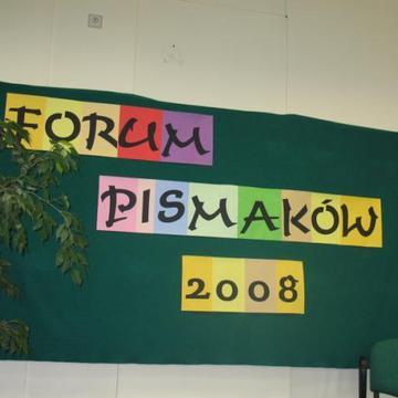 Galeria Forum Pismaków 2008