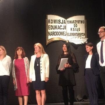 Galeria Odznaczenia nauczycieli II LO w Teatrze Zdrojowym 19.10.2018