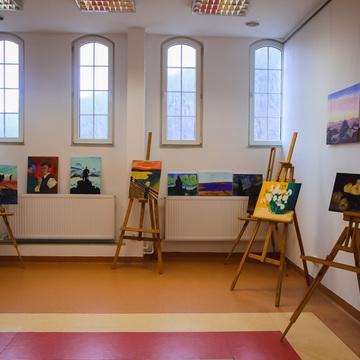 """Galeria wystawa """"Wielcy mistrzowie inspirują"""""""