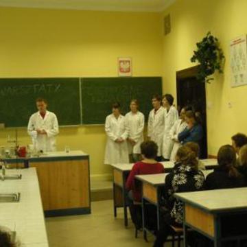 Galeria Warsztaty chemiczne - październik 2010